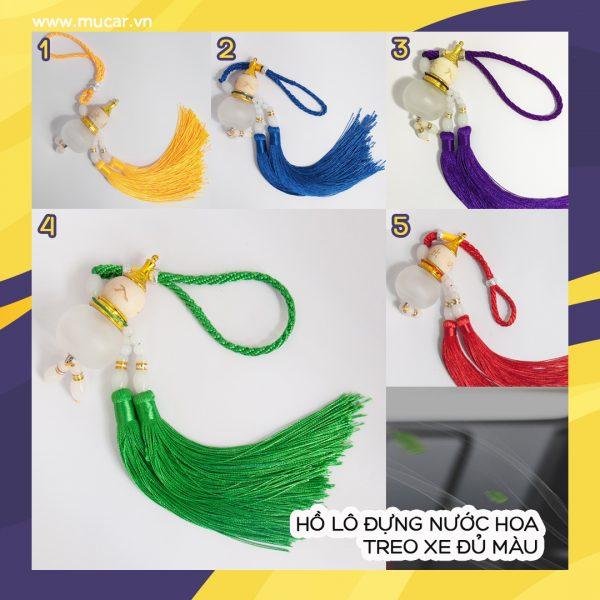 Ho Lo Dung Nuoc Hoa Treo Xe Du Mau Tong Hop 2