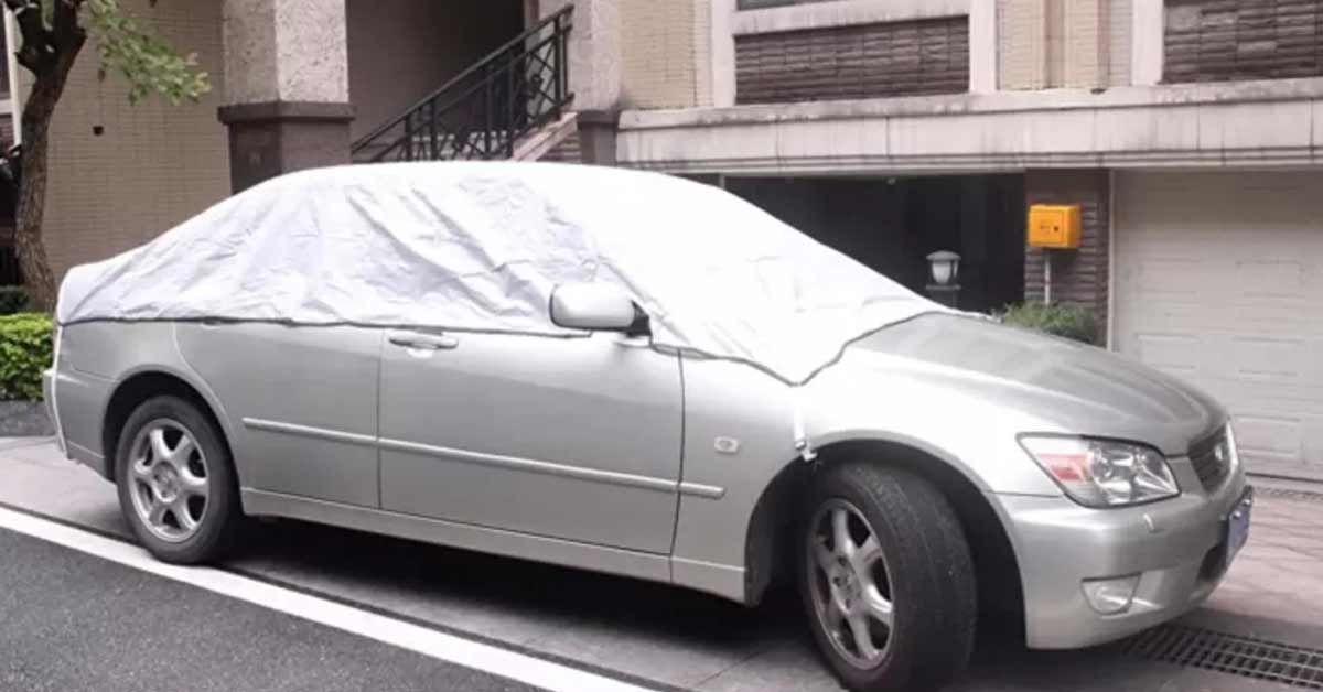 bạt phủ cách nhiệt ô tô