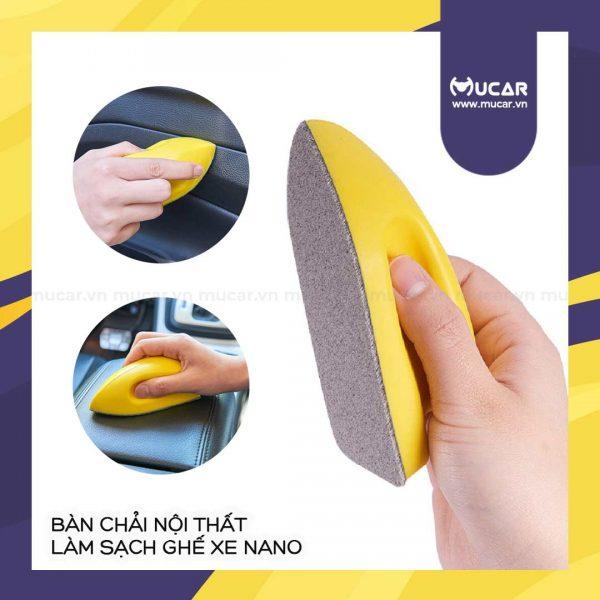Ban Chai Noi That Lam Sach Ghe Xe Nano 1